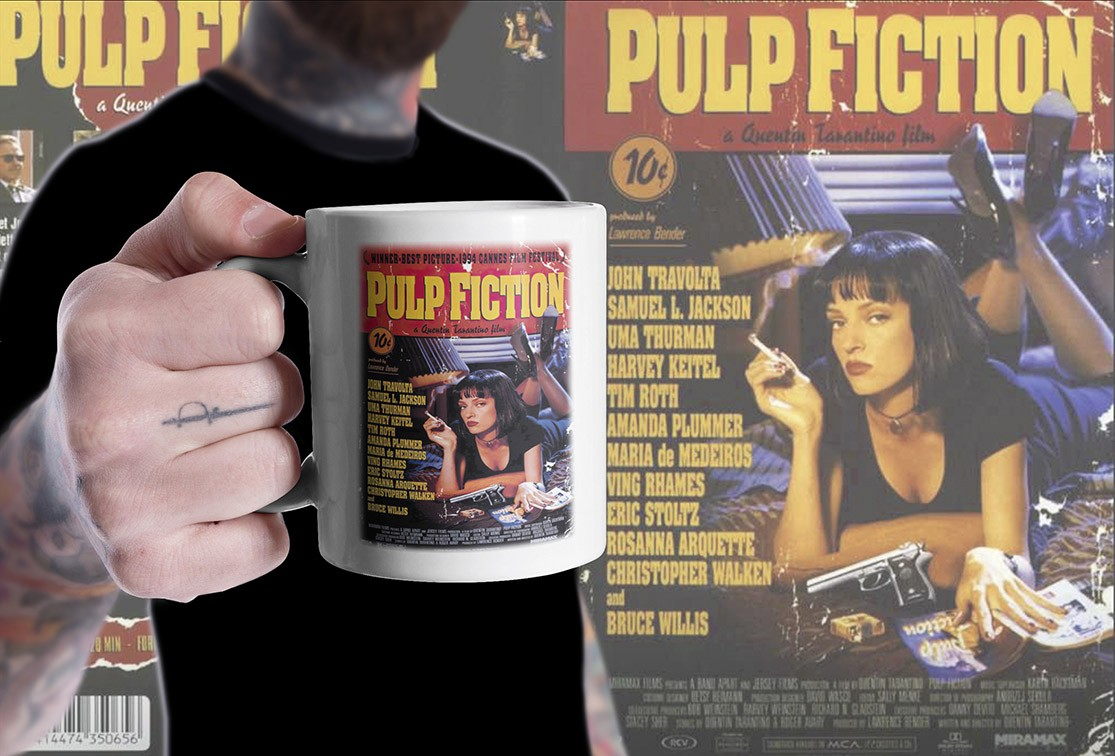 Caneca Caneca Pulp Fiction (Branca) - EV