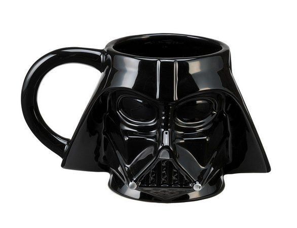 Caneca 3D Capacete Darth Vader: Star Wars 500 ml