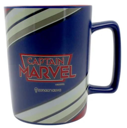 Caneca Capitã Marvel (Capitain Marvel) - 500ml - Zonacriativa