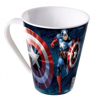 Caneca Capitão América: Avengers (360 ml) - Plasutil