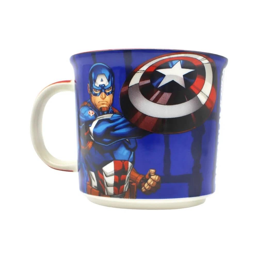 Caneca Capitão América: Marvel (Tie Die)