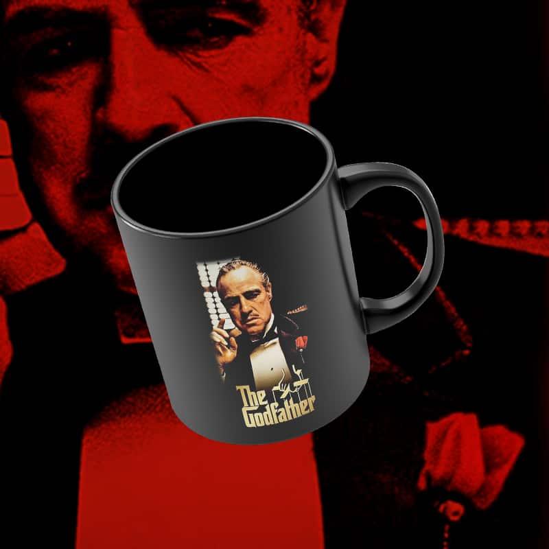 Caneca Cartaz Don Corleone: O Poderoso Chefão - EV