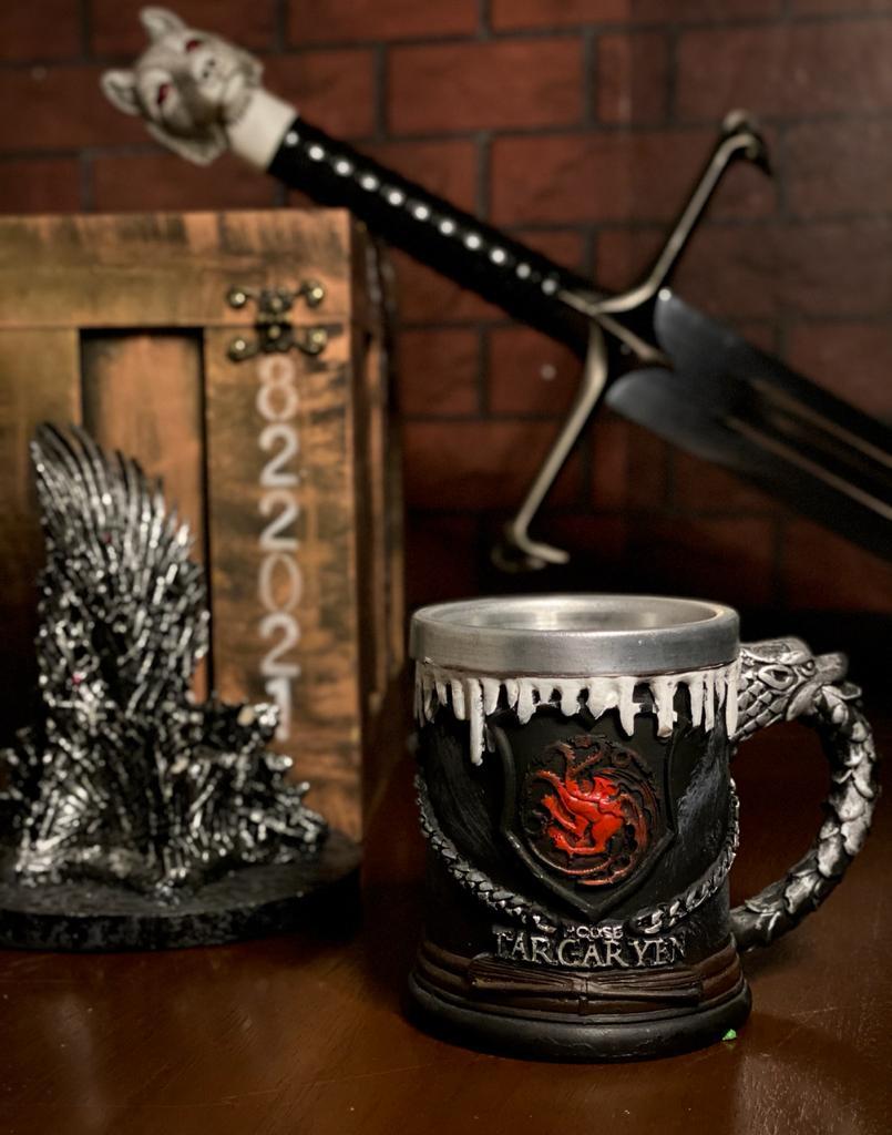 Caneca Casa Targaryen Yen: Game of Thrones