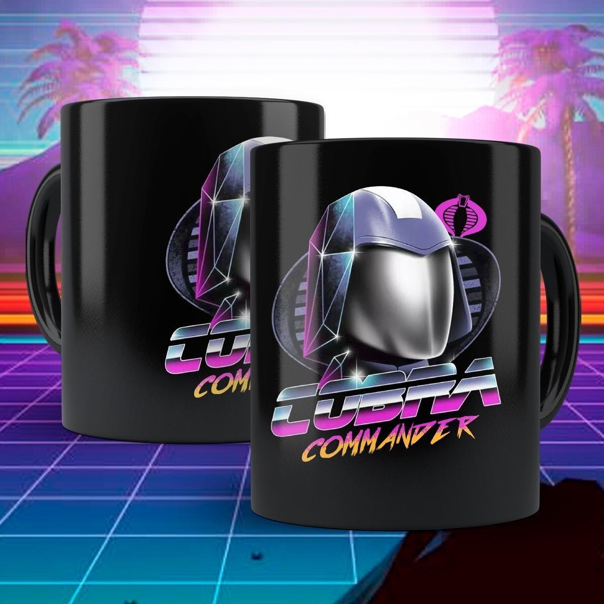 Caneca Cobra Commander: G.I Joe