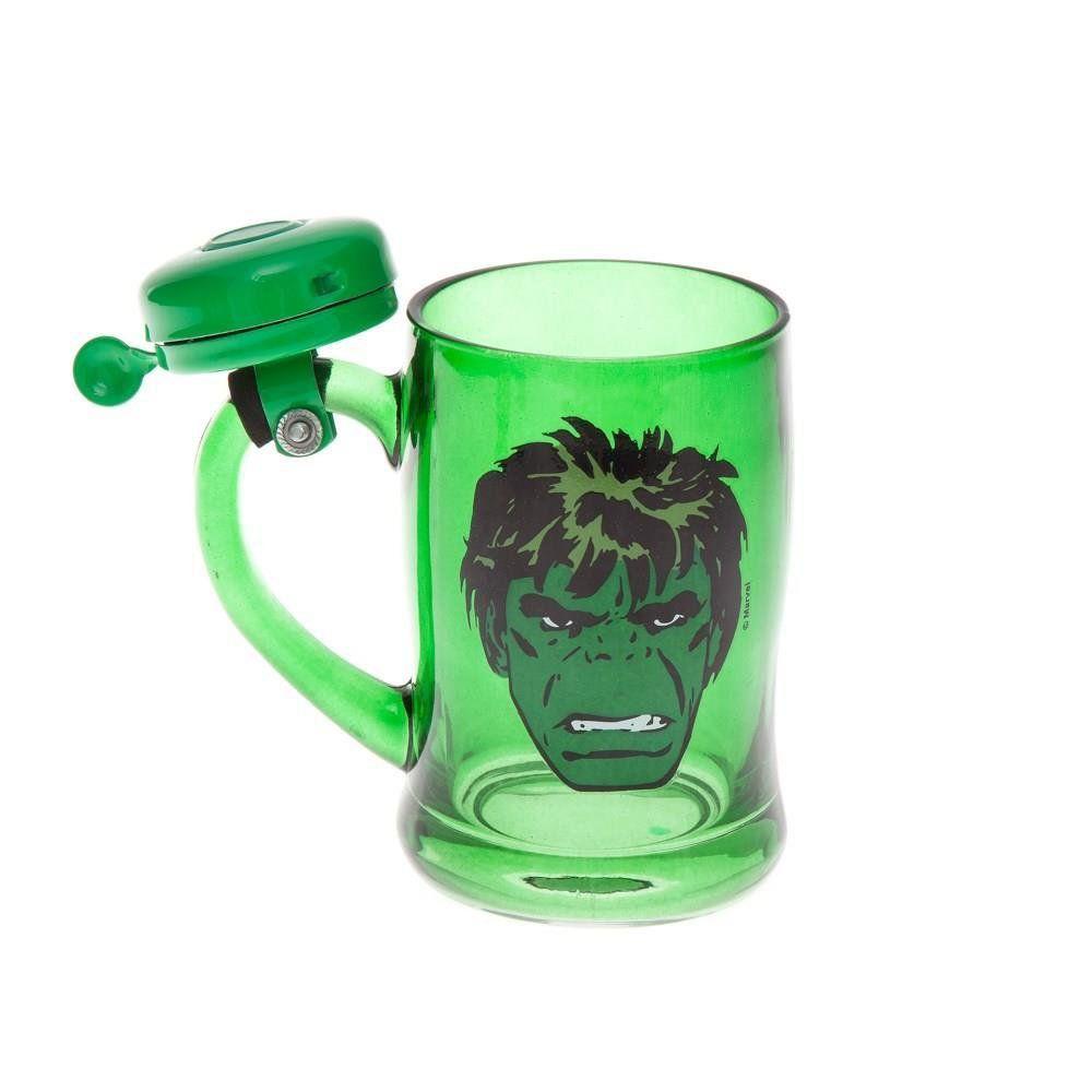 Caneca com Campainha Marvel Hulk