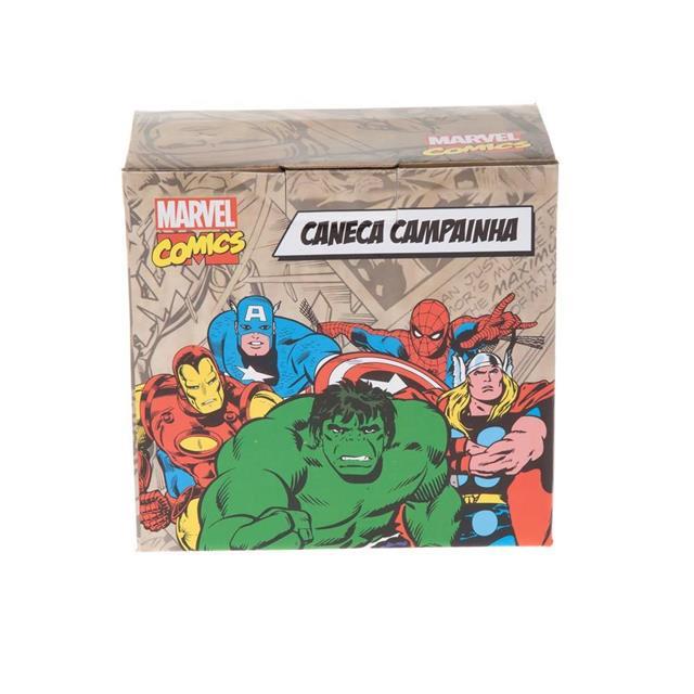 Caneca com Campainha Marvel Iron Man