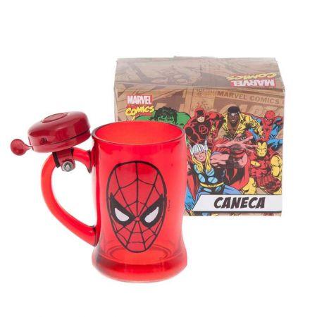 Caneca com Campainha Marvel Spider-Man - Marvel