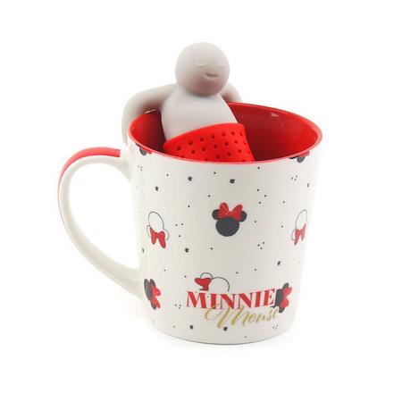 Caneca Com Infusor de Chá: Minnie Mouse 350ml - Disney