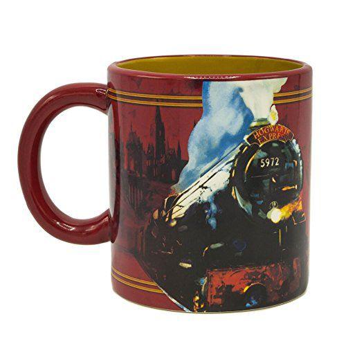 Caneca com Spinner (Giratório) Plataforma 9 3/4 Hogwarts Express: Harry Potter (591ml)