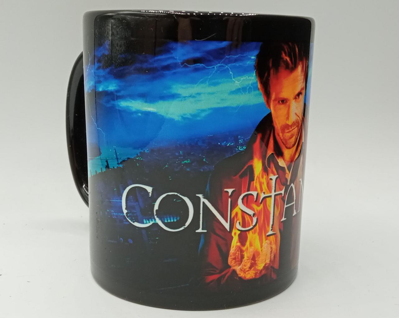 Caneca Constantine CW (Preta)