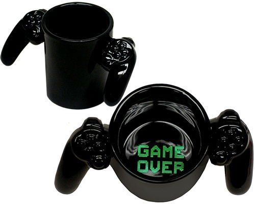 Caneca 3d Controle de Vídeo Game - Game Over