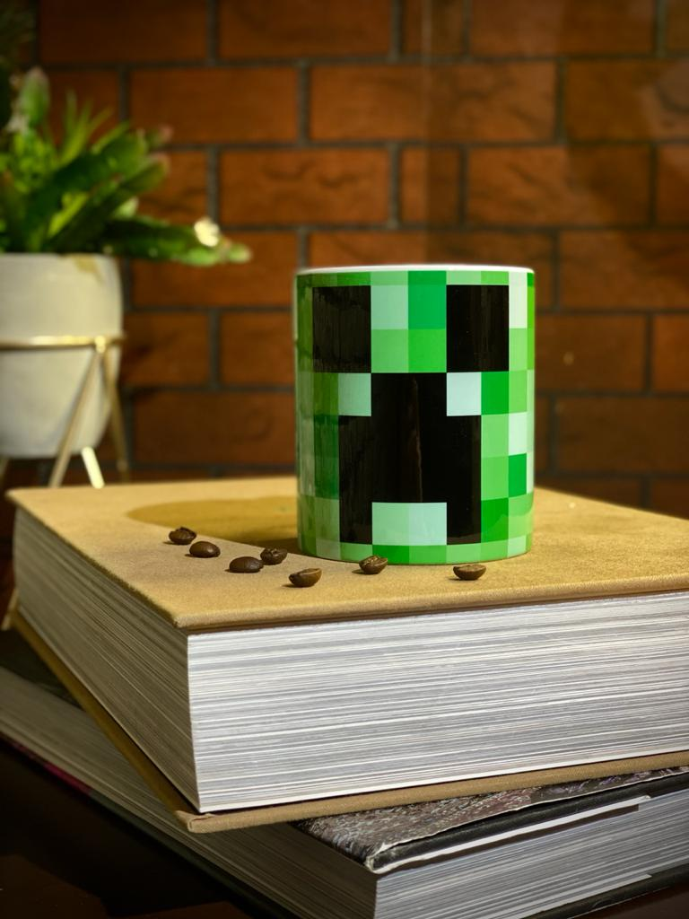 Caneca Creeper - Minecraft