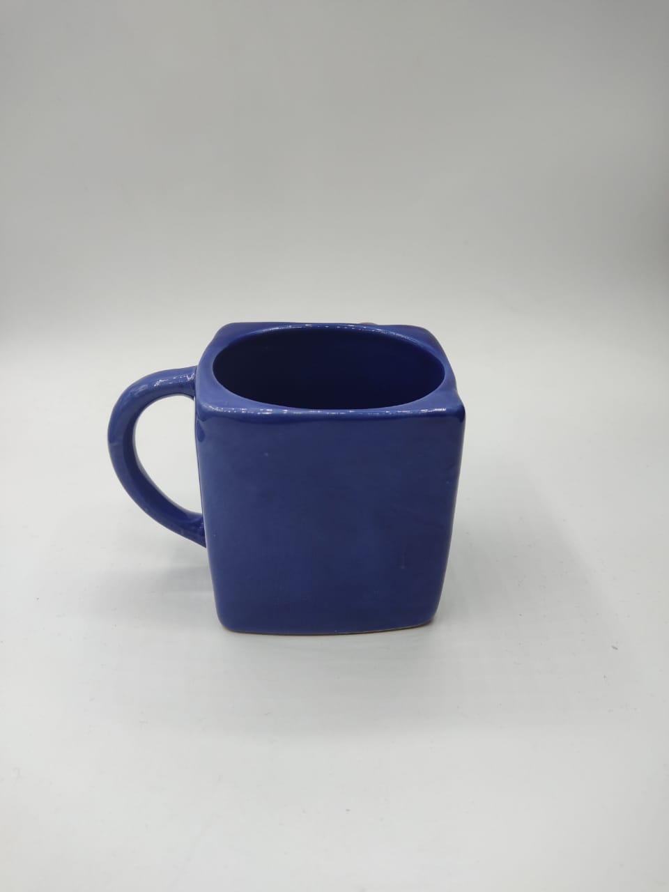 Caneca Cubo (Azul)
