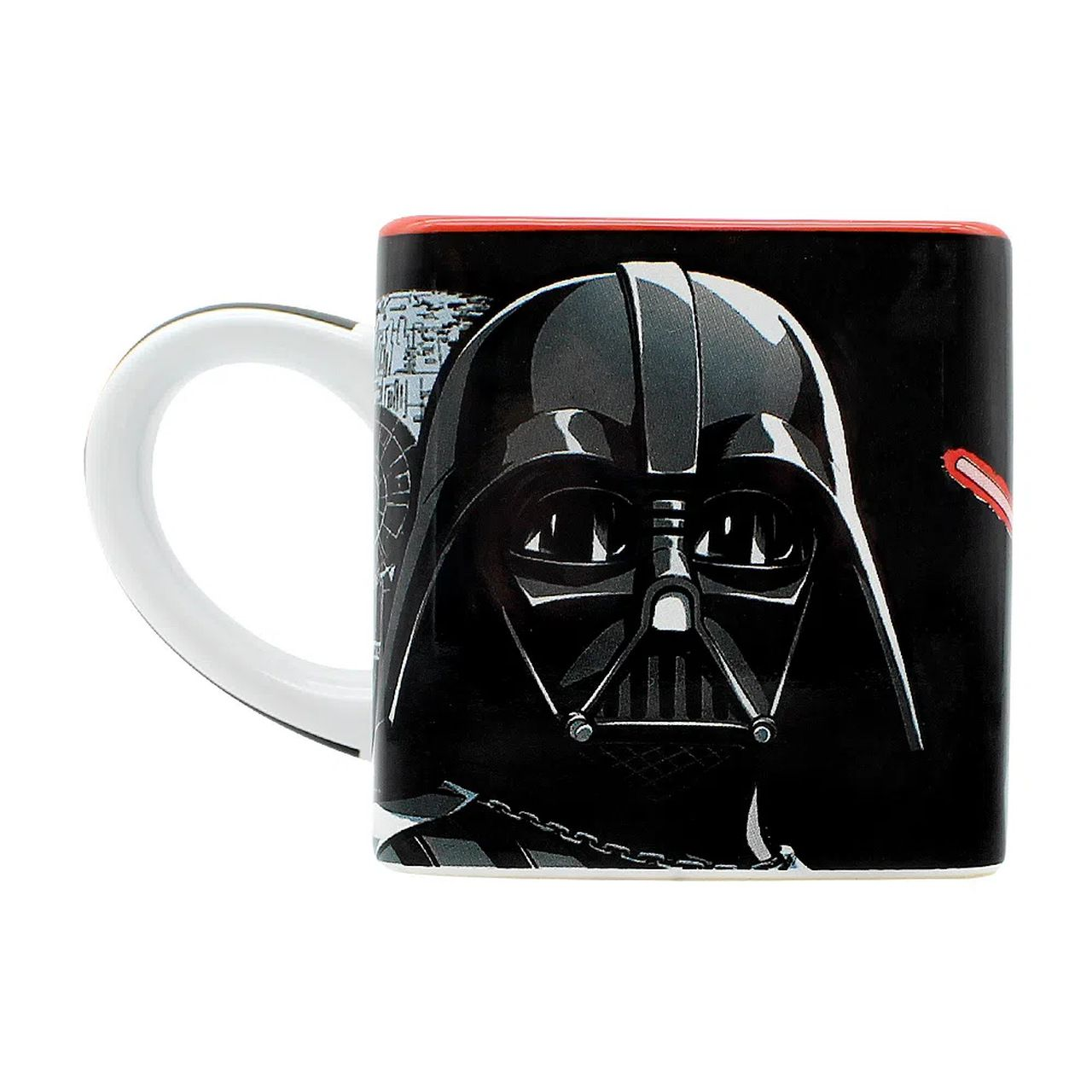 Caneca Cubo Darth Vader: Star Wars (300ml) - Zona Criativa