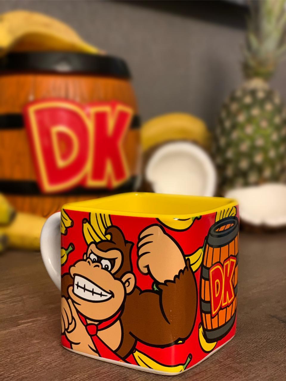 Caneca Cubo: Donkey Kong (300ml) - Zona Criativa