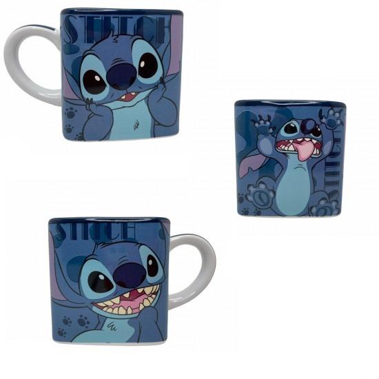 Caneca Cubo Stitch Lilo e Stitch Disney Classics 300ml