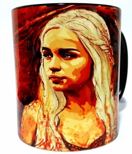Caneca Daenerys Targaryen: Game of Thrones