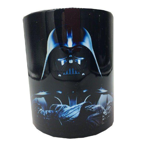 Caneca Darth Vader: Star Wars - Preta (330 ML)