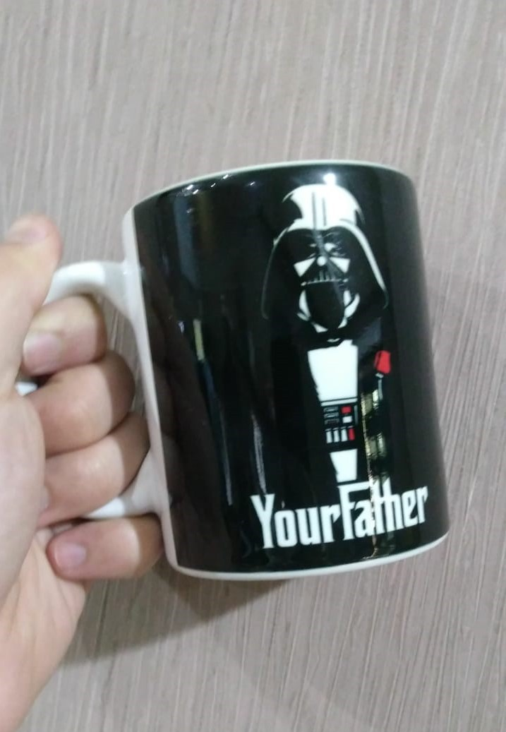 Caneca Darth Vader: Your Father