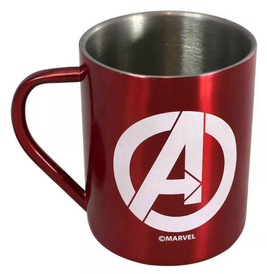 Caneca de Aço Avengers (Vingadores)