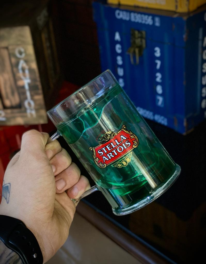 Caneca De Chopp Com Gel Stella Artois - 410ml