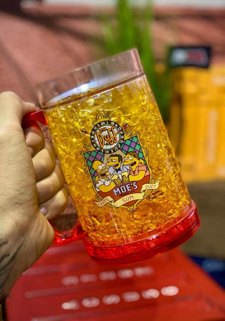 Caneca de Chopp Congelável Moe's: Os Simpsons - (400ML)