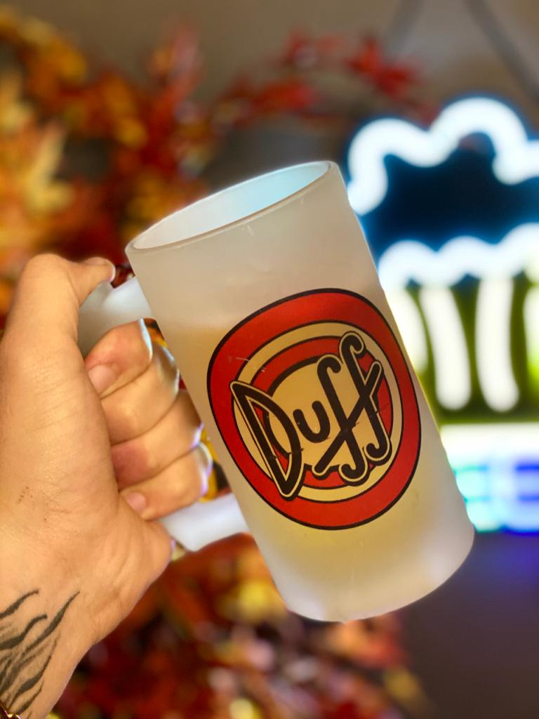Caneca de Chopp Duff: Os Simpsons - 475ml
