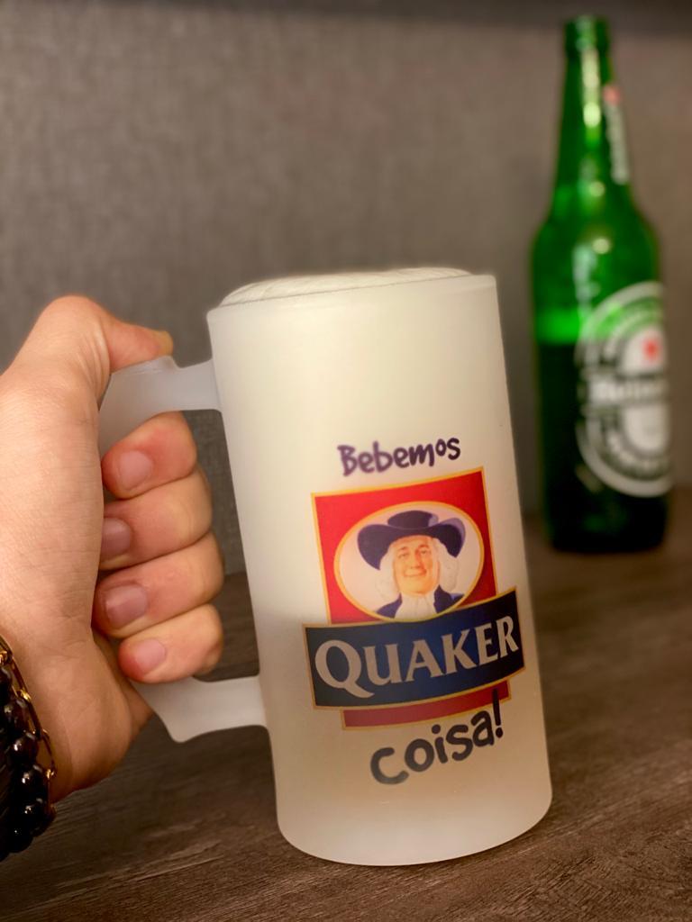 Caneca de Chopp Quaker