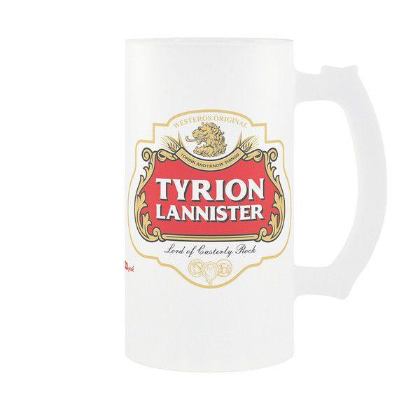 Caneca de Chopp Tyrion Lanister: Game of Thrones - 475ml