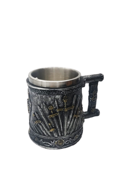 Caneca de Inox: Espadas (Swords): Game of Thrones
