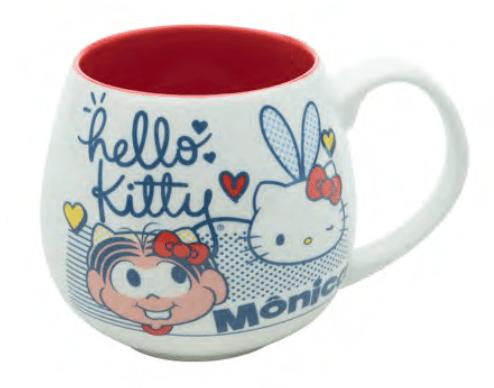 Caneca de Porcelana  Hello Kitty (300ml) - Urban