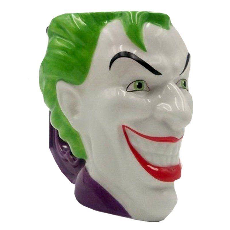Caneca de Porcelana 3D Joker (235ml) Esquadrão Suicida - URBAN