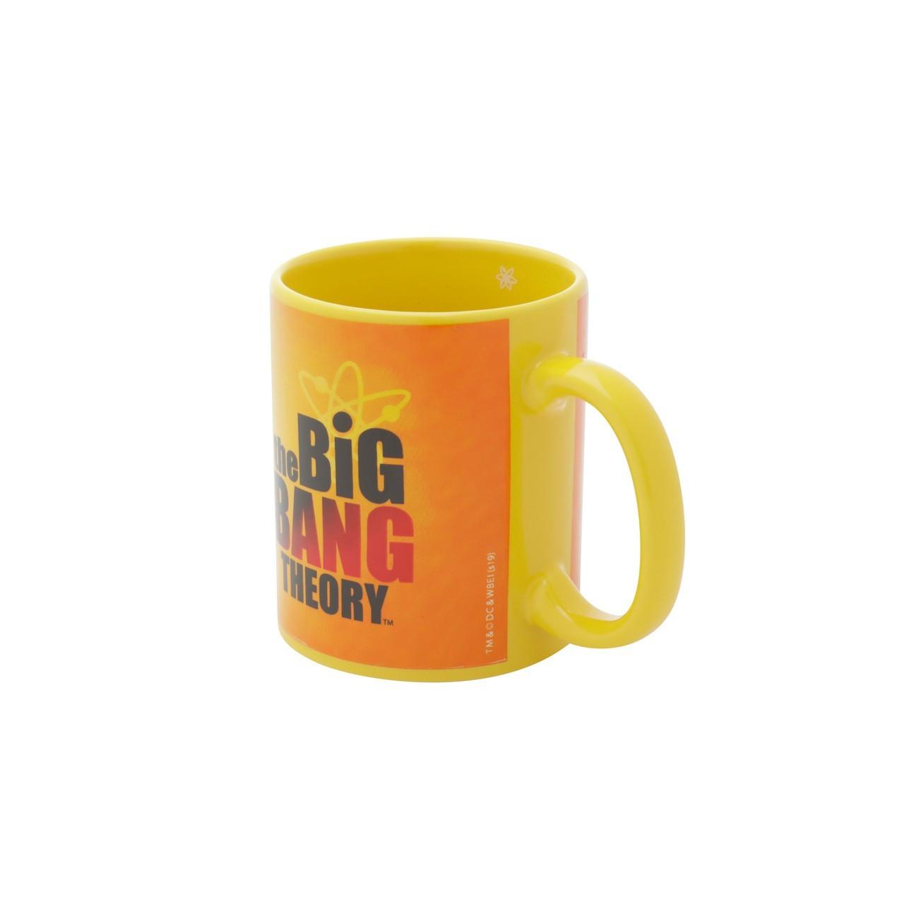 Caneca de Porcelana: Logo Big Bang Theory ( Amarelo ) - Urban