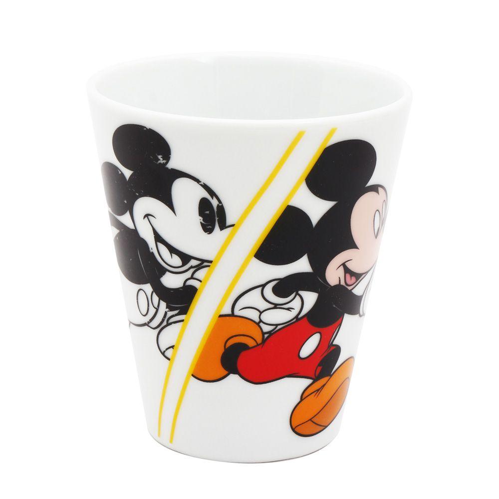 Caneca de Porcelana Mickey Mouse (Evolução): 90th Years Of Mickey (Disney)