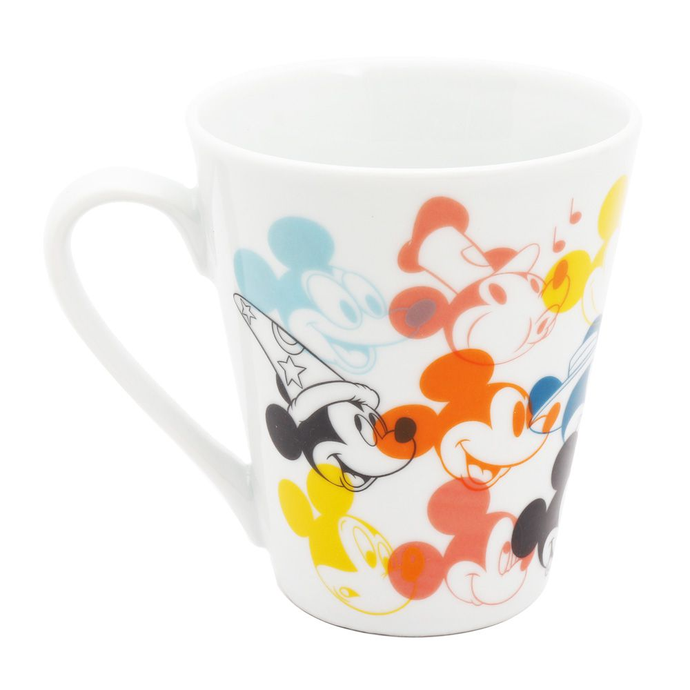 Caneca de Porcelana Mickey Mouse (Faces): 90th Years Of Mickey (Disney)