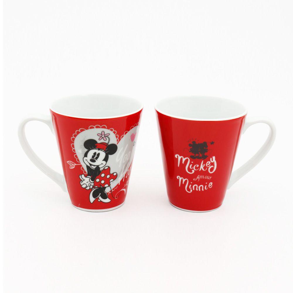 """Caneca de Porcelana Minnie Mouse """" Yoo Hoo!"""": Disney"""