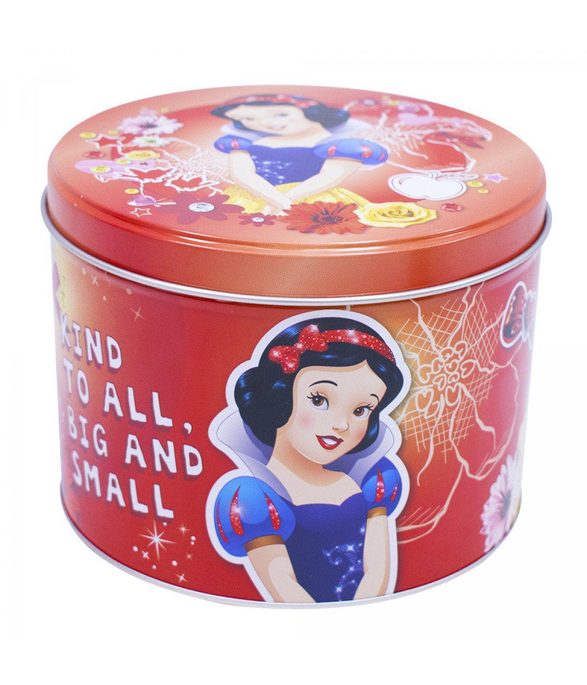 Caneca De Porcelana Na Lata Branca de Neve: Princesas Disney (350ml)