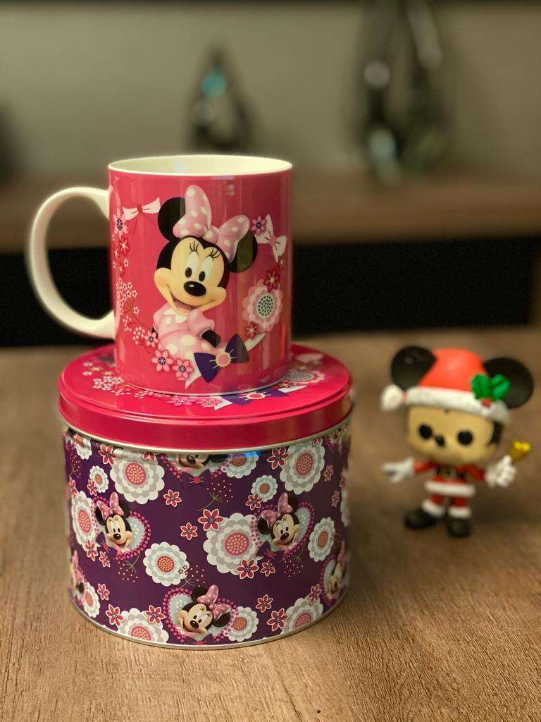 Caneca De Porcelana Na Lata Minnie: Disney (350ml)