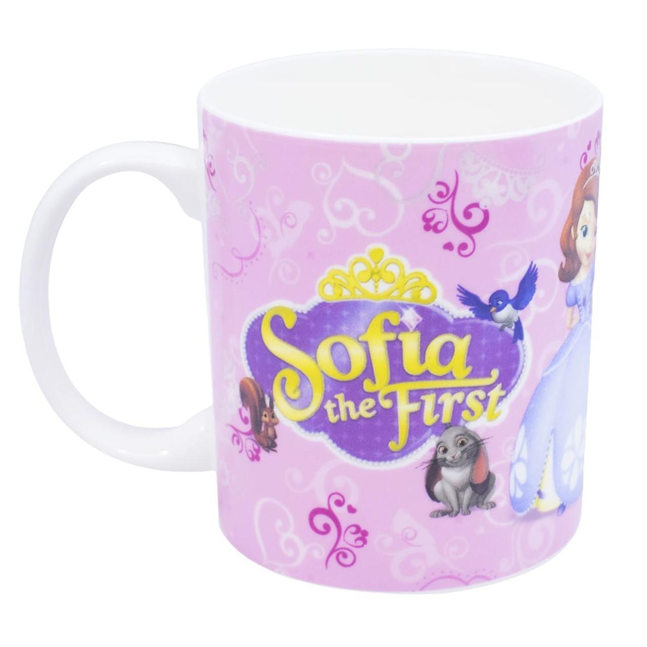 Caneca De Porcelana na Lata Princesa Sofia: Disney (350ml)