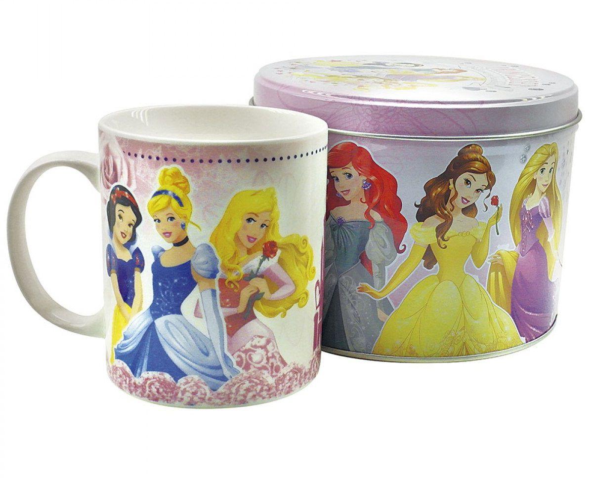 Caneca de Porcelana na Lata Princesas Disney - Disney