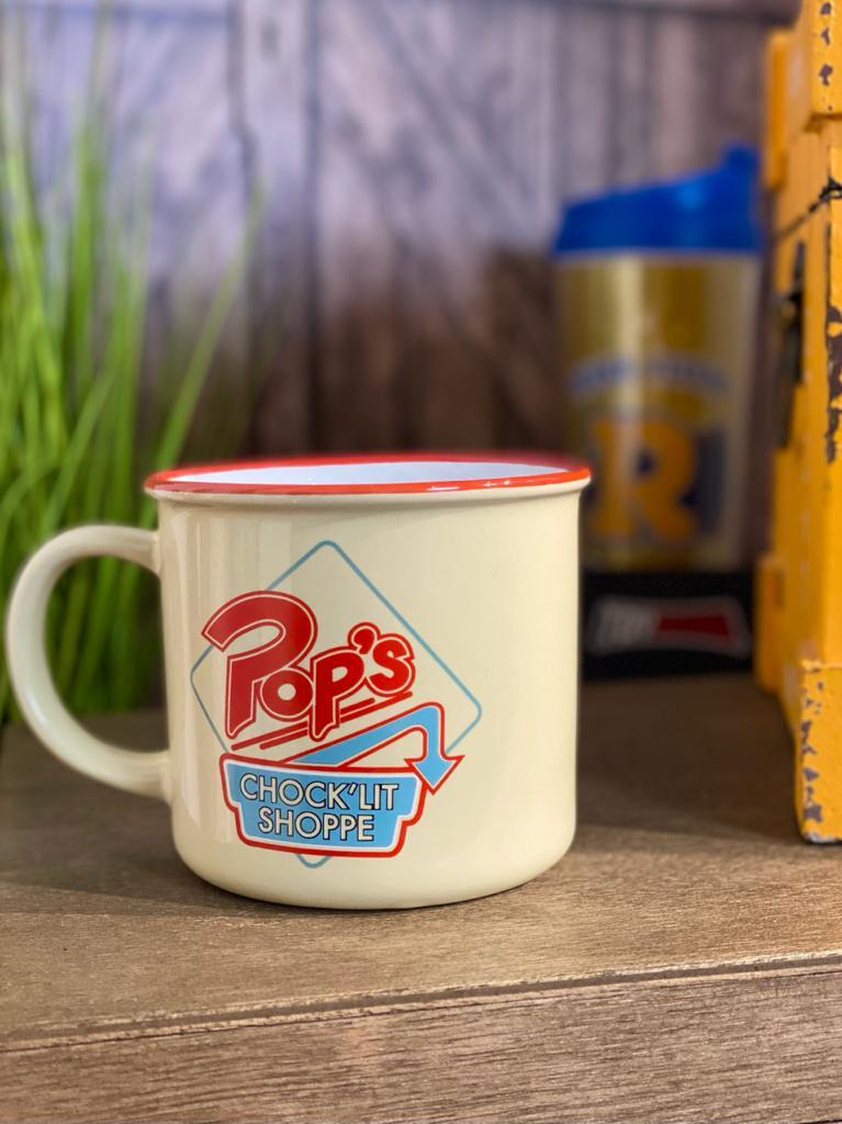 Caneca de Porcelana: Pops Riverdale ( Creme ) - Urban