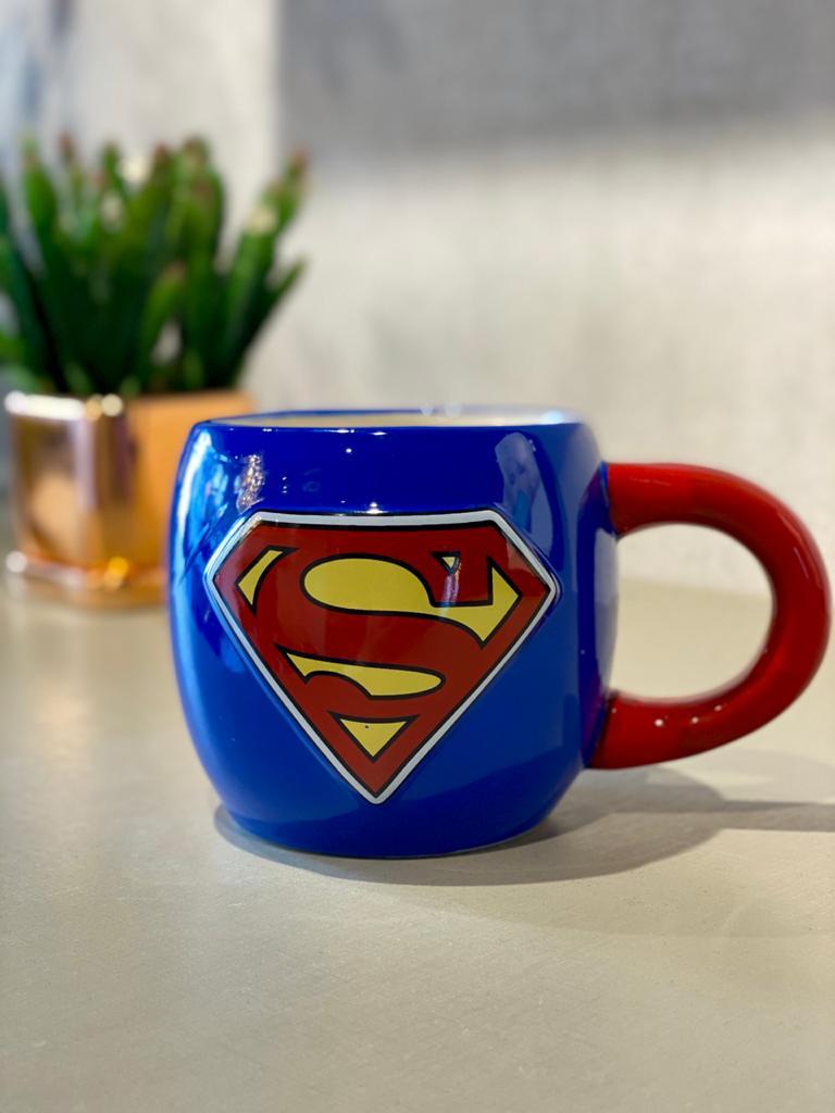 Caneca de Porcelana Superman (600 ml)