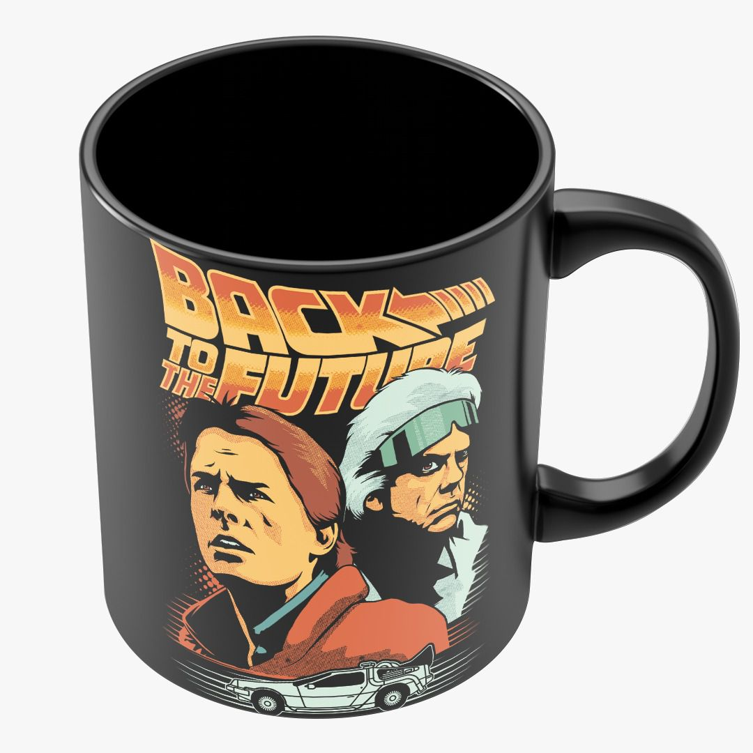 Caneca De Volta Para O Futuro (Back To The Future) - Toyshow