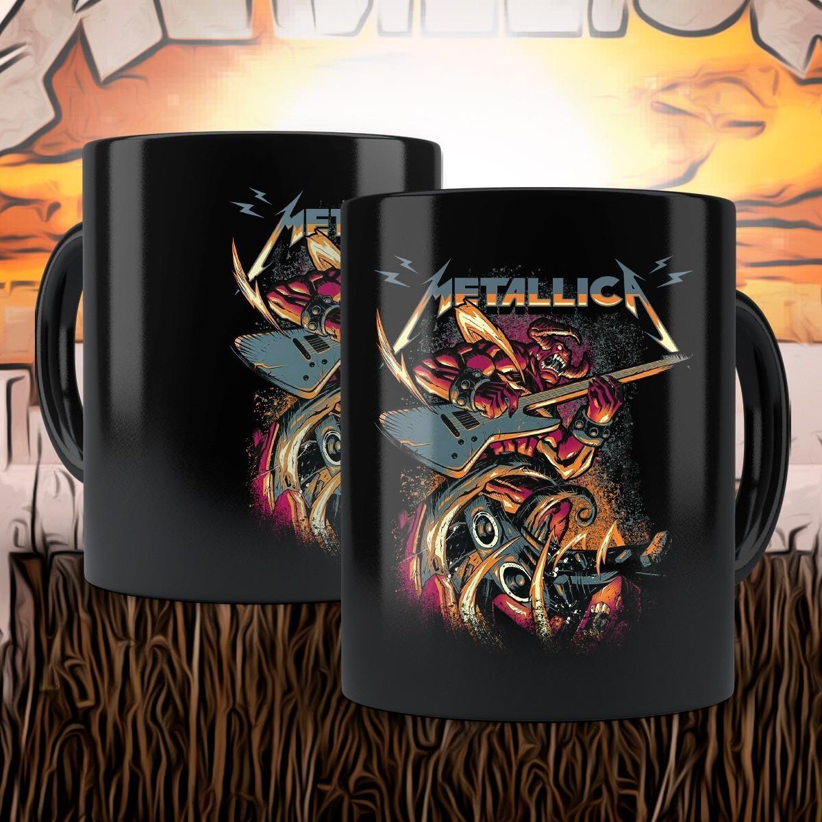 Caneca Demon James: Metallica