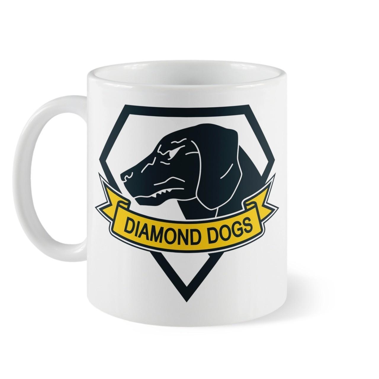 Caneca Diamond Dogs - Metal Gear Solid