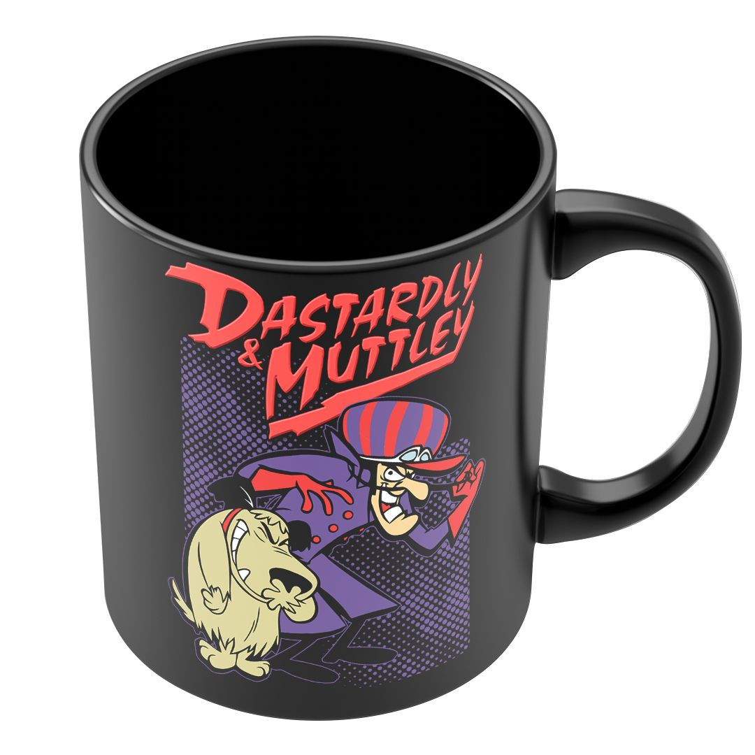 Caneca Dick Vigarista & Muttley
