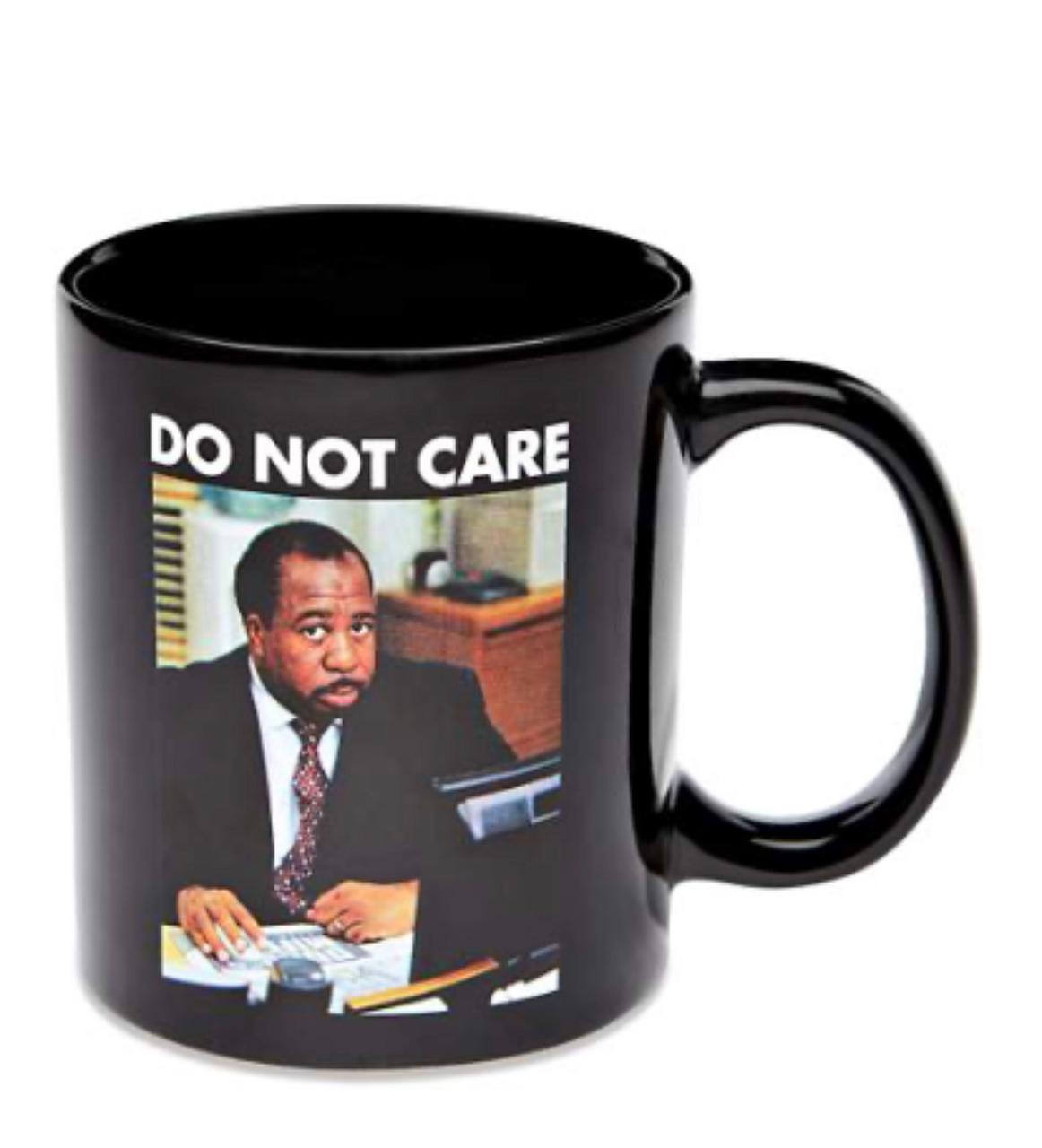 Caneca Do not Care Stanley - The Office (Preta) - EV