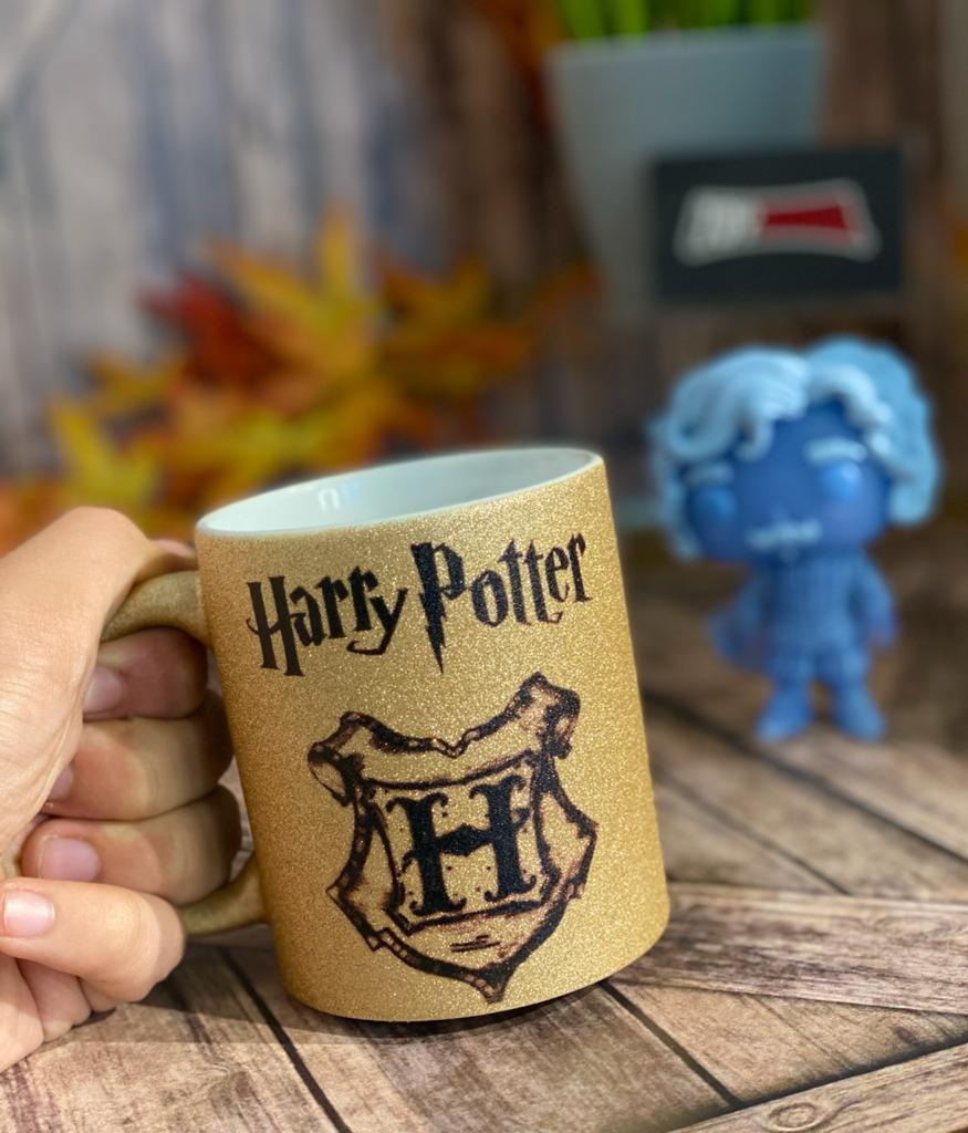 Caneca Dourada Harry Potter - (325ML)