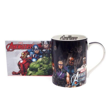 Caneca Dream Mug 460ml Avengers Preto - Marvel