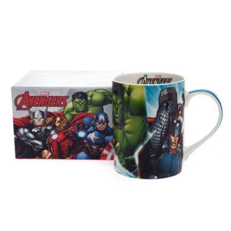 Caneca Dream Mug 460ml Avengers Turquesa - Marvel